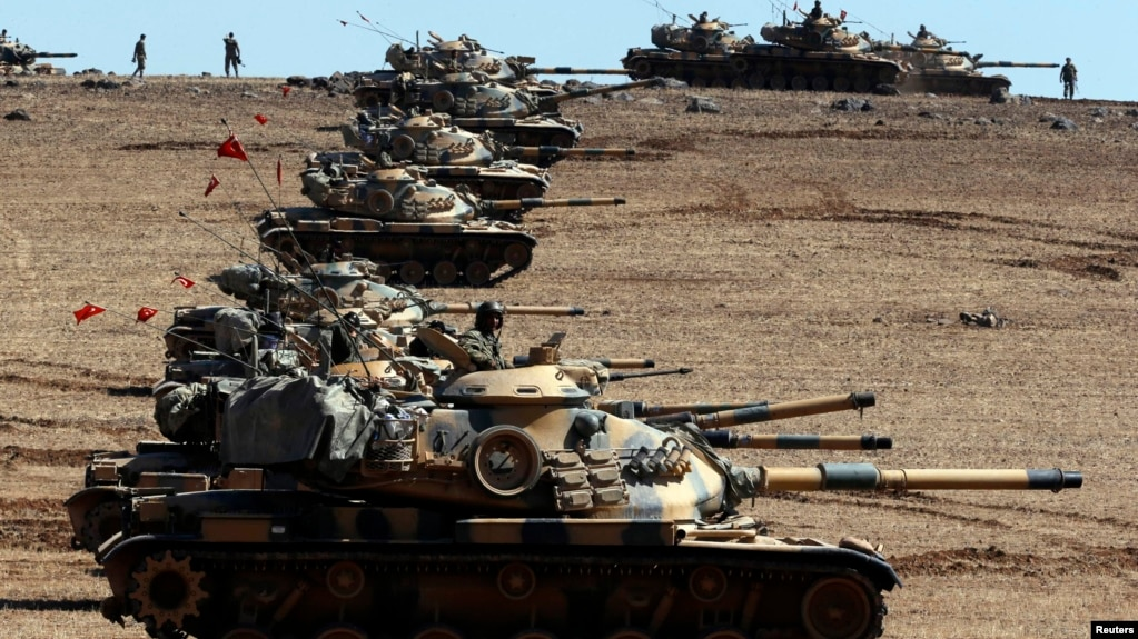 Why Syria And Russia Oppose Turkeys Idea Of A Buffer Zone - Where is syria and turkey