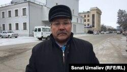 Гражданский активист Бауыржан Алипкалиев. Уральск, 10 марта 2017 года.
