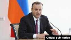 Исполняющий обязанности министра иностранных дел Армении Армен Григорян
