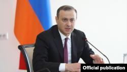 Հայաստանի Անվտանգության խորհրդի քարտուղար Արմեն Գրիգորյան