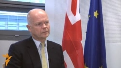 Full Interview: British Foreign Secretary William Hague