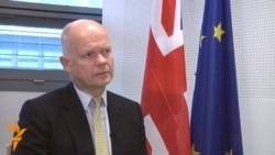 Heýg: Britaniýanyň niýeti Eýrandaky režimi üýtgetmek däl