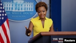 White House principal deputy press secretary Karine Jean-Pierre (file photo)