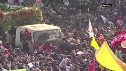 Soleimani comemorat la Teheran, amenințări comerciale la Washington