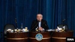 محمدجواد ظریف در دانشگاه تهران- ۱۲ آذرماه ۱۳۹۲