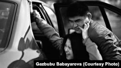 Похищение невесты. Иллюстративное фото с акции протеста в Кыргызстане против похищения невесты.