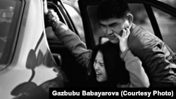 Kyrgyz bride kidnapping (illustrative photo from the Kyz Korgon Institute, an NGO that campaigns to eliminate the practice in Kyrgyzstan)