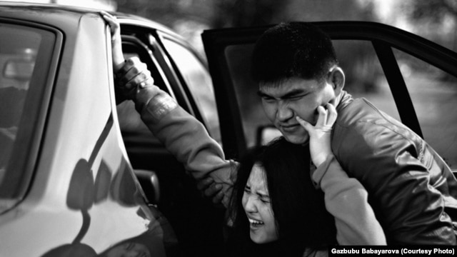 Local rights activists say about 12,000 Kyrgyz women are kidnapped and forced into marriage every year.
