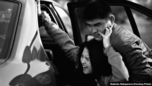 According to a UN report, as many as 80 percent of all  marriages in some Kyrgyz rural areas are the result of bride kidnapping (illustrative photo from the Kyz Korgon Institute, an NGO that campaigns to eliminate the practice in Kyrgyzstan)