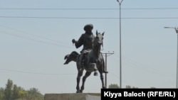 A new square in Turbat is named after legendary Baluch warrior, Chakar Azam.