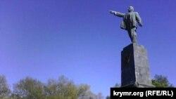 Пам'ятник Леніну в Севастополі, 22 квітня 2016 року