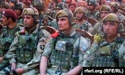 Солдаты спецназа афганской армии. 12 апреля