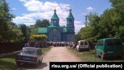 Храм святого Георгія Побідоносця у селі Катеринівка Тернопільської області