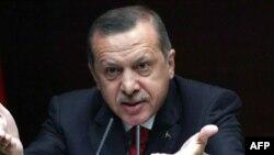 رئيس وزراء تركيا رجب طيّب أردوغان