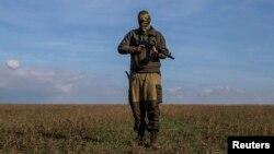 """Военный с позывным """"Хантер"""" в Ясиноватой"""