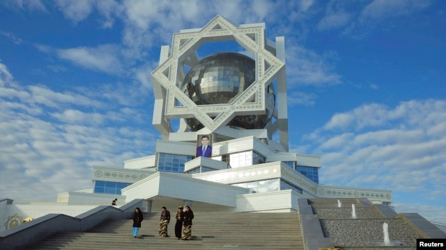 "Turkmenistan's ""Wedding Palace"" in Ashgabat"