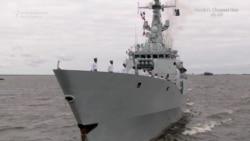 Iran, Pakistan, India Join Russian Naval Parade