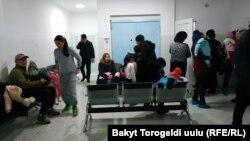 Городская детская клиническая больница №3 в Бишкеке. 3 декабря 2018 года.