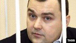 Бывший мэр Архангельска Александр Донской на суде. Архангельск, 5 марта 2008 года.