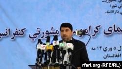 اکرم خپلواک عضو شورای عالی صلح افغانستان