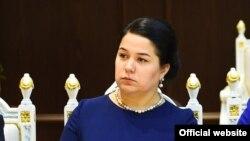 Дочь таджиккого президента Озода Рахмон.
