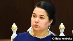 Озода Рахмон, дочь президента Таджикистана Эмомали Рахмона, руководитель аппарата президента Таджикистана.