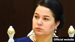 Дочь президента Таджикистана Озода Рахмон.