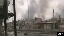 Homs, februar 2012.