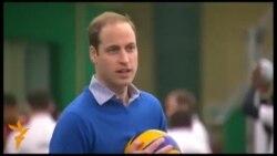 Принц Вільям зіграв у волейбол