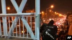 Антиурядові протести у Тегерані. 12 счня 2020 року