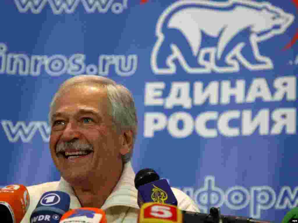 Аммо Борис Гризлов, спикери феълии Дума ва аз пешвоёни Русияи воҳид чунин намешуморад