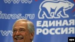 Борис Грызлов поблагодарил избирателей, которые отдали свои голоса «Единой России»