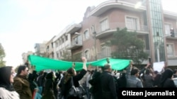 Opposition supporters in Tehran rally, despite an official ban, on the anniversary in 2009 of the storming of the U.S. Embassy in Tehran in 1979, when U.S.-Iranian ties were severed.