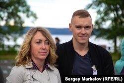 Ирина и Артем Плюхины