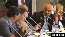 Представители сирийской оппозиции перед переговорами в Астане.