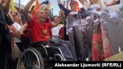 """Grupa građana koja organizuje protest najavila je da žele da poruče """"ne daljoj fašizaciji i klerikalizaciji crnogorskoga društva""""."""