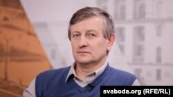 Яраслаў Раманчук у стыдыі Радыё Свабода, архіўнае фота