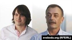 Ягор Марціновіч і Сяргей Дубавец
