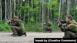 Ваенны лагер казакоў