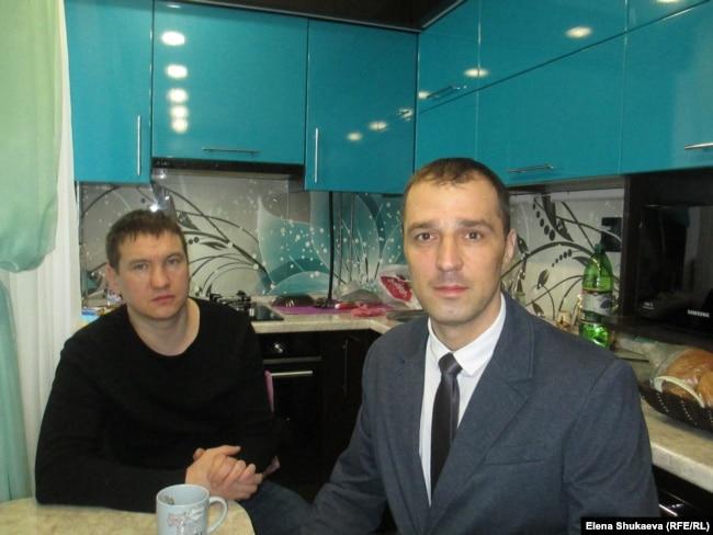Рустам Корелин и Дмитрий Дудырин
