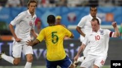 Товарищеский матч Бразилия-Англия, Доха, 14 ноября 2009
