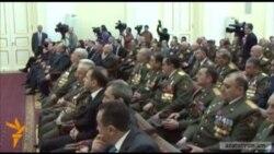 Սերժ Սարգսյանը պարգեւատրել է զինվորականներին