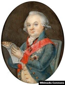 Иван Симолин (1720—1799). Художник Фердинанд де Мейс. 1790