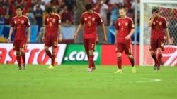وداع اسپانیا پس از هفت گل خورده