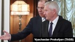 Rusiyanın xarici işlər naziri Sergey Lavrov Thorbjorn Jagland-ı oktyabrın 20-də Moskvada qəbul etmişdi