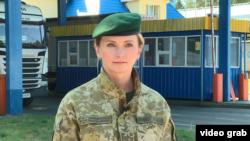 Галина Шеховцова, виконувачка обов'язків прессекретаря Чернігівського прикордонного загону