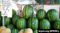 Иллюстративная фотография. Продукты на рынке в Крыму