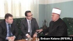 Muftija Čamdžić i direktor agencije TIKA Zulkuf Oruč, foto: Erduan Katana