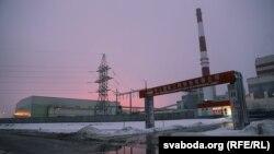 Завод беленай цэлюлёзы каля Сьветлагорску, архіўнае фота