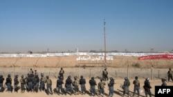 نمایی از اردوگاه اشرف، عراق
